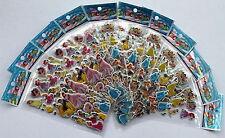 Disney  Snow White Ariel Cinderella Rapunzel Stickers 25 Sheets Party Favours