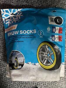 car snow socks