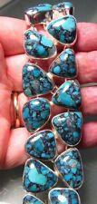 Handmade Statement Fine Gemstone Bracelets Turquoise