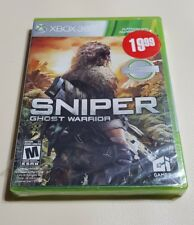 NEW SEALED XBOX 360 PLATINUM HITS GAME, SNIPER GHOST WARRIOR