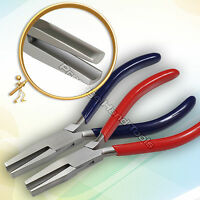 """Forming Pliers Rind Bending Half Round Concave Nose Pliers Jewellery Tools 6.5"""""""