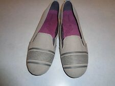 MERRELL LIGHT GRAY CANVAS ESPADRILLES  SZ 9M~VERY CLEAN