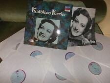 Kathleen FERRIER: MAHLER BACH BRAHMS SCHUMANN etc.../ Homage box 7 LPs Decca F