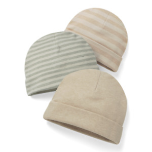Newborn Baby Beanie all orgainic no chemical dyeing 100% cotton super soft safe