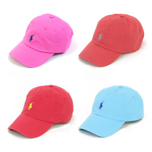 Polo Ralph Lauren Baseball Cap Hat w/ Pony - 4 colors
