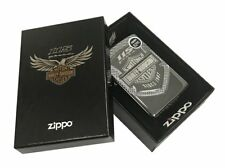 Zippo Lighter Harley-Davidson® 115th Anniversary Armor  Polish Chrome 29557
