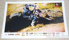 2012 Malcolm Stewart JDR/J-Star KTM 250 SX-F AMA Supercross Motocross Poster