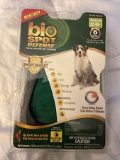 """Bio Spot Defenseâ""""¢ With Smart Shield Flea Tick For Dogs 32-55lbs 6 Month Supply"""