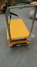New 350KG Hydraulic Scissor Lifter/Table Cart With 1300 mm Lift Height