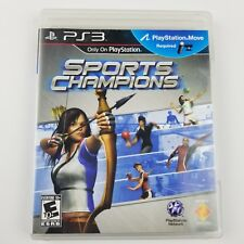 Sony Playstation 3 Sports Champions Sony Ps3 2010 Video Game Free Shipping