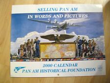 Pfanne American Airlines Kalender - 2000 Pfanne Am Historical Society Werbung
