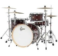 """Gretsch Catalina Maple CM1 4-Piece Shell Pack w/ 22"""" Bass Drum Deep Cherry Burst"""