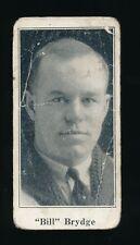 1924-26 V128 Paulin's Candy #19 BILL BRYDGE (Port Arthur) -NHL-Americans Cougars
