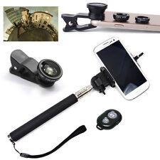 Kit Selfie Monopiede Asta telescopica + Set 3 Lenti per Samsung Galaxy S4 /S4 VE