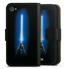 Apple iPhone 4 bolso funda flip case-Jedi Lightsaber