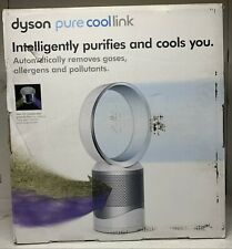 New Dyson Pure Cool Link Hepa Air Purifier & Bladeless Fan, Remote White Silver