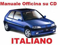 PEUGEOT 106 (1991/2004) Manuale Officina ITALIANO SU CD Rallye