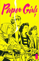 PAPER GIRLS #1 - 1ST PRINT - NM - Image Comics Brian K. Vaughan - Movie Option