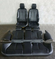 BMW 1 Series F20 M Sport Black Leather Interior Seats