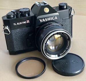 "Vintage Yashica TL ELECTRO X ""ITS""  35mm Film Camera, f1.4 Yashinon-DX Lens MINT"