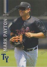 2016 Tampa Yankees Mark Payton RC Rookie New York
