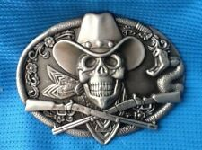 Unbranded Metal Cowboy & Western Belt Buckles for Men