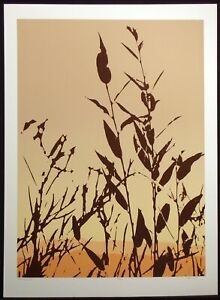 "Jim Boutwell ""Hinterlands III"" Signed Numbered Fine Art Serigraph, wild grass"