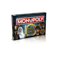 Lord of The Rings Monopoly Board Game Winning Moves