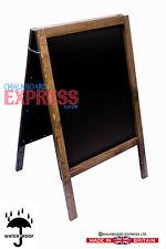 A BOARD - BLACKBOARD - CHALKBOARD-SANDWICH-PAVEMENT SIGN - 100cm x 62cm 10KGS