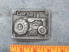 Vintage CASE 500 Tractor Belt Buckle 1953 Limited Edition SC Spec Cast Pewter