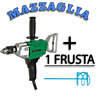 TRAPANO MISCELATORE HITACHI D13 720W IMPASTATORE + FRUSTA GAMBO ESAGONALE Ø 90mm