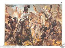 Garde RUSSIE RUSSIA Flag Austerlitz 1805 Empereur Napoleon I CARD UNIFORM ARMY