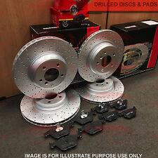 Per Q7 Cayenne Touareg Anteriore Posteriore Forato Performance Dischi Freno Pads sensori