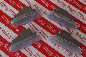 Genuine Toyota Landcruiser 100 Series Courtesy Door Light Set of 4