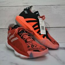 Adidas Dame 6 Big Kids Geek Up Youth Size 7 Red Basketball Shoes FW4341