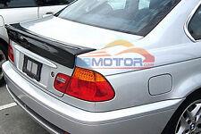 Carbon Fiber Trunk Spoiler CSL Bigger Wing Lip For 3Series BMW E46 2D 98-05 b018