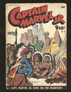 Captain Marvel Jr. # 20 Fair Cond.