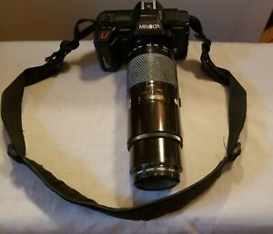 Minolta Maxxum 5000AF With 75-300 Lens And Hoya 55mm UV Filter