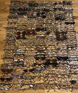 Lot of 255 Sunglasses/ Eyeglasses Vogue, Coach, Persol, MK, + More