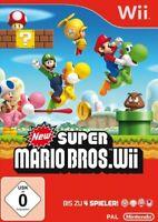 Nintendo Wii Spiel - New Super Mario Bros. DE/EN mit OVP