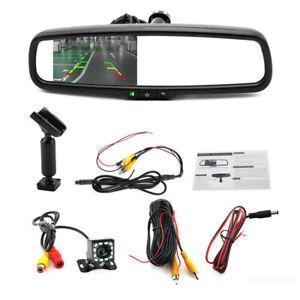 "4.3"" Auto Dimming Rear View Mirror Monitors Device Rear LED Camera Night Vision"