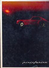 Pininfarina Yearbook no.9 1968 Ferrari Lancia Fiat Alfa Romeo