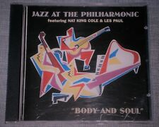 Nat King Cole & Les Paul Jazz at the Philharmonic Body and Soul CD ALBUM