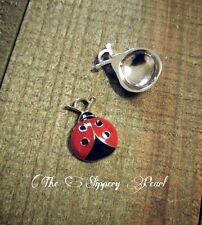 Ladybug Charms Ladybug Pendants Red Ladybug Charms Enamel Charms Wholesale Charm