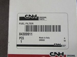 Original CNH Case New Holland 84309911 Spin-On Fuel/Water Separator Filter