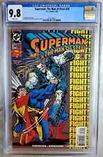 Superman Man of Steel #30 D.C. 1994 CGC 9.8 NM/MT White Pages Comic P0150