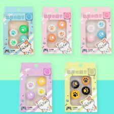 4Pcs Cute Silicone Thumb Grip Handstick Caps For Nintendo Switch PRO/PS4 Console