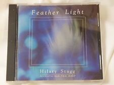 Feather Light by Hilary Stagg Audi Music CD 1989 Real Music Records New Age Harp