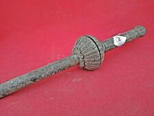 1900's Vintage Old Collectible Hand Carved Mughal Spear Head Lance Dagger Point