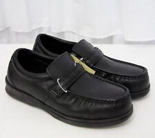 Florsheim Steel Toe Black Leather Oxford Loafer Work Shoes Unisex 9.5 / 7.5M NEW